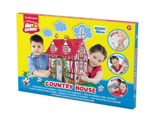 Игровой домик для раскрашивания Artberry/Cjuntry house