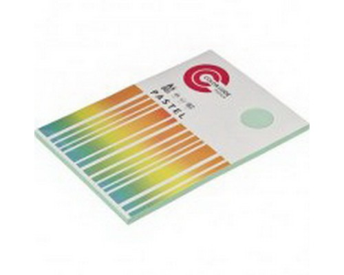 Бумага А4 100 листов COLOR CODE PASTEL, п листов 80г/м2, зеленая БЕЗ СКИДКИ