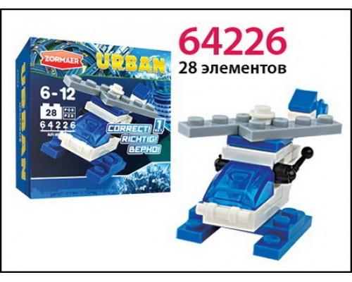 """Конструктор """"Воздушный дозор"""", 28 элементов 64226"""