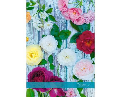 Книга для записей А4 160 листов Цветочная композиция