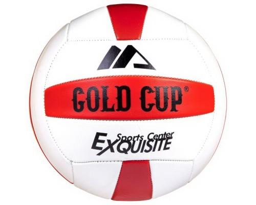 Мяч волейбольный 280г, PVC,matt,2слоя, GOLD CUP Т38535