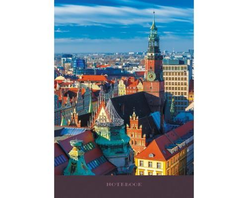 Книга для записей А4 128 листов Архитектурное наследие