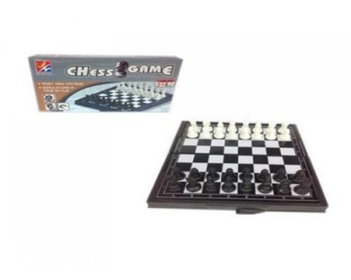 Шахматы мини магнитные в коробке,47029