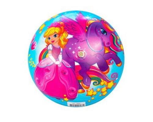 Мяч Принцесса и лошадь 23 см