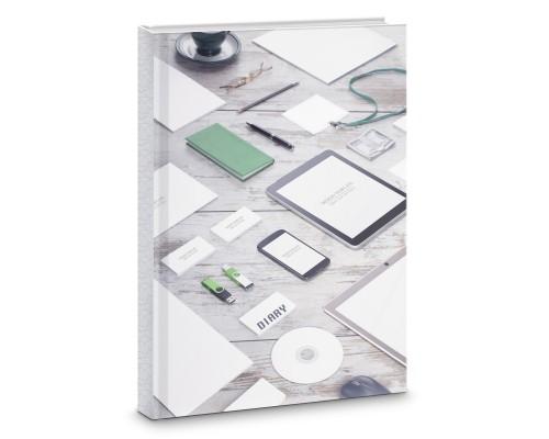 Книга для записей А4 160 листов Стильный офис