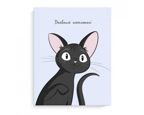 Дневник (твердая обложка) ЧЕРНЫЙ КОТ